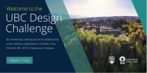 UBC Design Challenge 2015