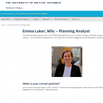 INTERVIEW WITH EMMA LUKER, EDGES ALUMNI AND PLANNING ANALYST